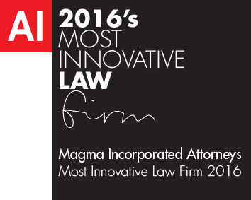 Most Innovative Law Firm 2016 winners logo Template